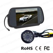 7 pulgadas de copia de seguridad del sistema de cámara del monitor del espejo retrovisor