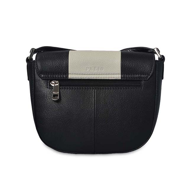 Soft Leather Simple Style Crossbody Shoulder Bag