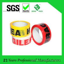 Fita selada do uso do logotipo da selagem da caixa para embalar