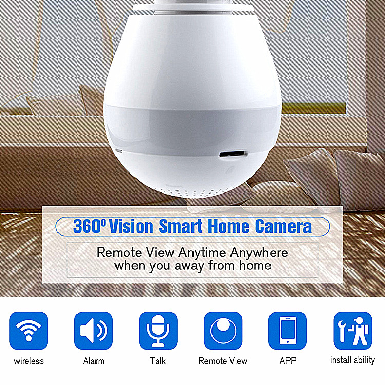 bulb home camera wireless