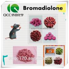 Крысиный убийца Бромадиолон 98% TC 0,005% Восковая приманка CAS 28772-56-7