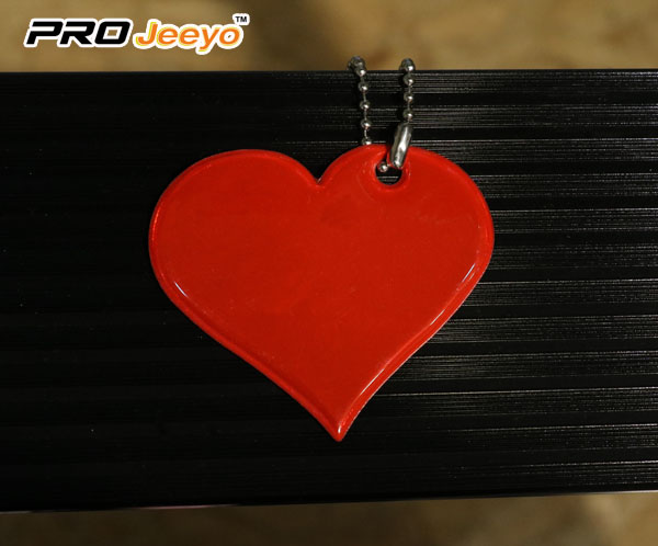 Red Heart Shape Love Pvc Pendant Rv 201 1 Red