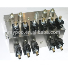 manifold valves hydraulic system for garbage truck