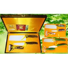 3шт керамический набор ножей (КП-003)
