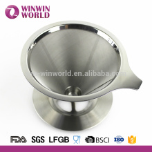 Manufacturer of Coffee Accessories #304 Stainless Steel 4 Cup Coffee Dripper Scoop