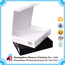 Logo Gold/silver foil Customized cardboard paper boxes package printing