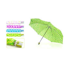 Parapluie mince d'ouverture et de fermeture automatique compact (YS-3FD21083018R)