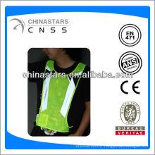 EN471 / ANSI T / C ou couture 100% polyester sur ruban réfléchissant pour vêtements