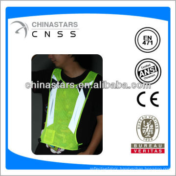 EN471/ANSI T/C or 100% polyester sew on reflective tape for clothing