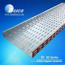 Bandeja de cabo galvanizado por imersão a quente (UL, cUL, SGS, IEC, CE, ISO)