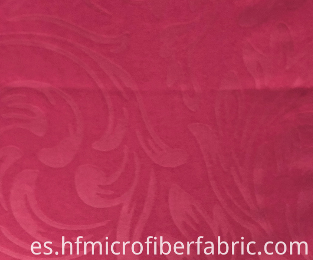 Dye Embossed Peach Skin Fabric