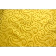 tissu teint en polyester gaufré