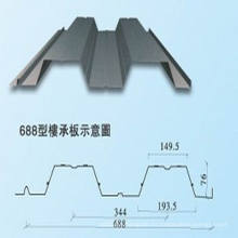 Material de la estructura de acero, Yx688 Hoja de la cubierta del piso (XGZ-34)