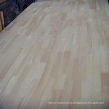 Eine Klasse Rubberwood Finger Joined Board (Arbeitsplatten)