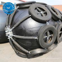 tipo pneumático flutuante inflável flutuante do barco marinho de borracha para navios & docas flutuantes