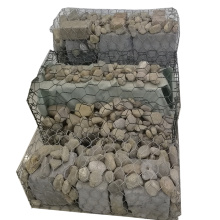 80 * 100 MM Berat Hot-Dipped Galionized Woven Gabion Basket