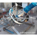 Industrial Steam/Electric Jacketed Kettle with Stirrer