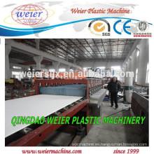 máquina de fabricación de placas de espuma de 20mm de espesor de PVC