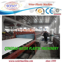 20mm thickness of PVC foamed plates manufacture machine