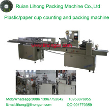 Lh-450 Single-Row Disposable Plastic Cup Counting and Packaging Machine