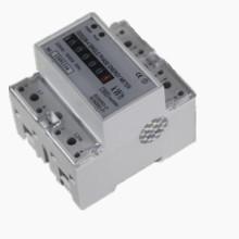 Monofásico Digital Multi Tariff Medidor de trilho DIN