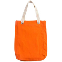 Plain Color Canvas Tote Bag För Go Out