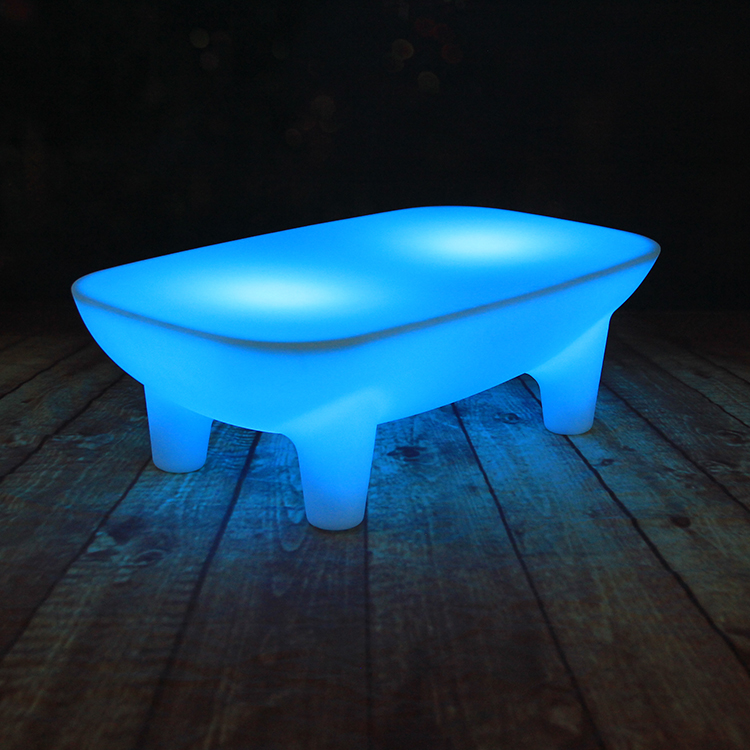 Color Acrylic Coffee Table