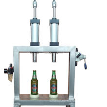 micro brewery equipment manual glass bottle beer filling capping machine