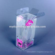Bonbons en plastique de cadeau de boîte claire en plastique