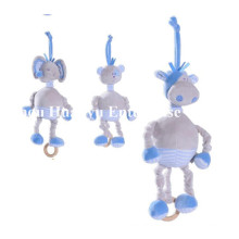 Factory Supply New Design of Baby Stuffed Plush Musical Movement Toy