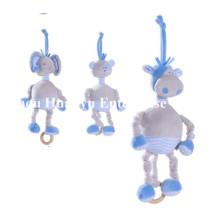 Fábrica de Design Novo Design de Bebê Stuffed Plush Movimento Musical Toy