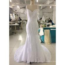 Aoliweiya 2017 vestidos de novia de la boda sirena de la boda