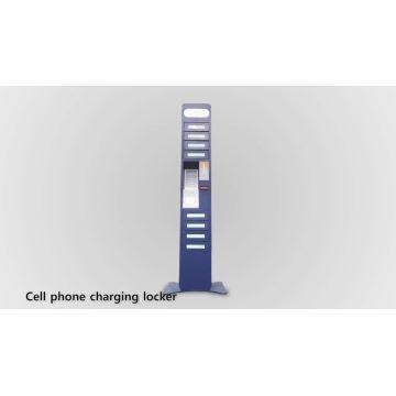 Cellphone charging locker
