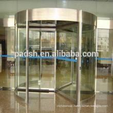 manual revolving door, ISO9001 CE UL certificate