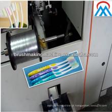 Mais barato e melhor qualidade chinesa hotrizontal escova de dentes CNC tufting máquinas na província de Guangdong