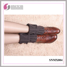 2015 Winter Warm Button Decorate Knit Short Leg Warmers