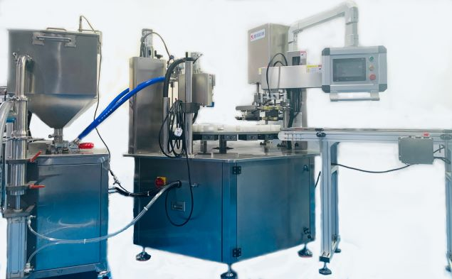 Standard Filling and capping machine