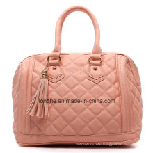 Fashion Quilted PU Leather Ladies Designer Handbag (ZXS0069)
