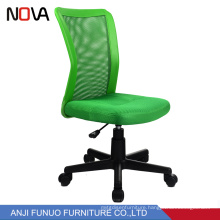 Green Mesh Adjustable Seat Rotating Student Study Chair With Mesh Back