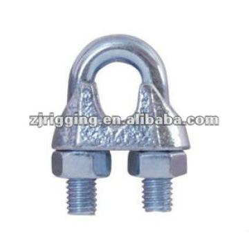 Clip de cuerda maleable DIN741 galvanizado