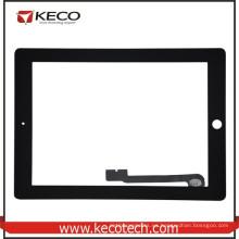 Nuevo reemplazo de la pantalla del digitizador del tacto para el iPad 3 El nuevo iPad Negro