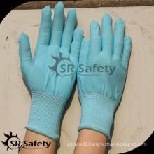 SRSAFETY 13 gauge blue nylon gloves liner