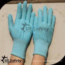 SRSAFETY 13 калибровочных синих нейлоновых перчаток