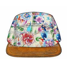 Design you won floral 5 panneau chapeau