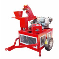 manufacturer 9.5KW 380V manual interlocking automatic cement block making machine in ghana