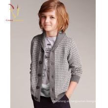 Nuevo diseño Intarsia Models For Kids Cardigan Baby Boy Cardigan Sweater