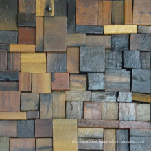 Australia Style Building Rustic Old Ship Wood Mosaic Tile