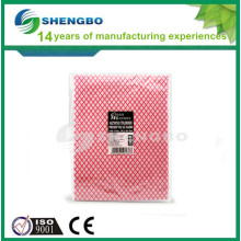 Impregnated cleaning cloth 30*50cm RED BLUE