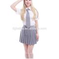Summer Cotton Blends school uniform design British Style China factory