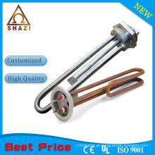 Elemento de aquecimento elétrico de 1.5kw para gerador de vapor e elemento fornecido diretamente na fábrica